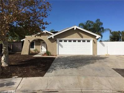 14519 Justin, Moreno Valley, CA 92553 - MLS#: IV17254380