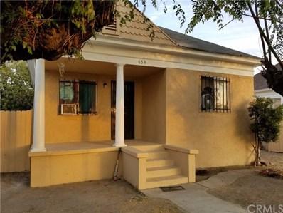 659 N L Street, San Bernardino, CA 92411 - MLS#: IV17255947