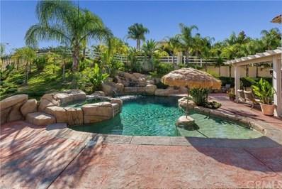 18604 Sunset Knoll Drive, Riverside, CA 92504 - MLS#: IV17263399