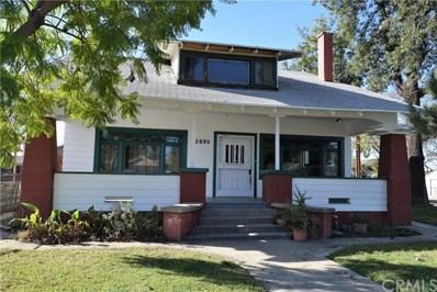 2892 Cridge Street, Riverside, CA 92507 - MLS#: IV17273323