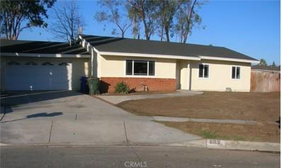 603 S Idyllwild Avenue, Rialto, CA 92376 - MLS#: IV18010030