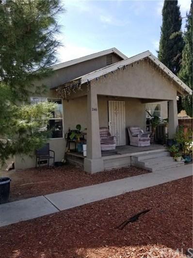 246 W 5th Street, San Jacinto, CA 92583 - MLS#: IV18022904
