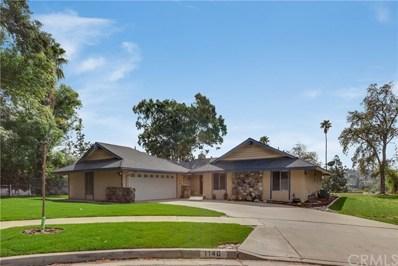 1140 Blazewood Street, Riverside, CA 92507 - MLS#: IV18035336