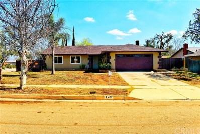 743 N Beechwood Avenue, Rialto, CA 92376 - MLS#: IV18042736