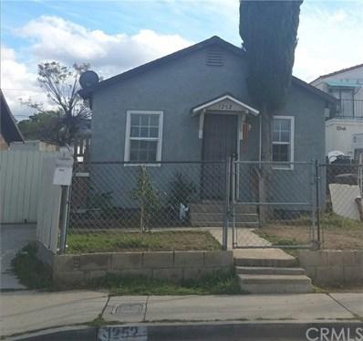 1252 D Street, Corona, CA 92882 - MLS#: IV18065160