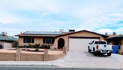 881 Cholla Drive, Barstow, CA 92311 - MLS#: IV18070573