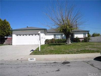 265 S Tamarisk Avenue, Rialto, CA 92376 - MLS#: IV18072183