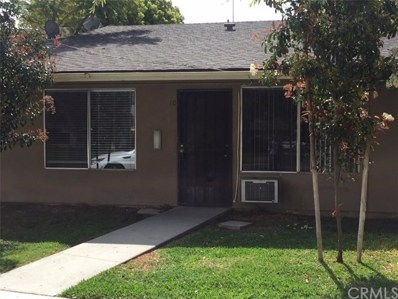 4715 Jackson Street UNIT 10, Riverside, CA 92503 - MLS#: IV18079842