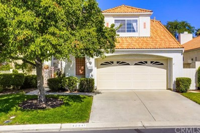 40441 Via Siena, Murrieta, CA 92562 - MLS#: IV18085538