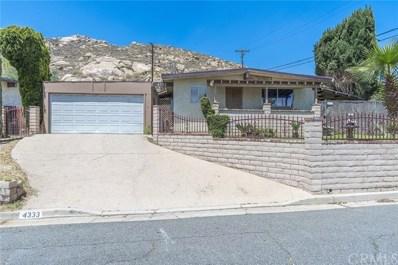 4333 Estrada Drive, Riverside, CA 92509 - MLS#: IV18119447