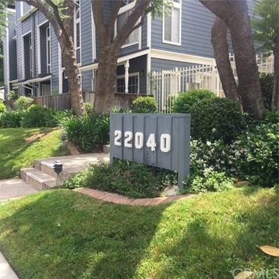 22040 Gault Street UNIT 17, Canoga Park, CA 91303 - MLS#: IV18121242