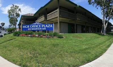 222 N Mountain Avenue UNIT 109, Upland, CA 91786 - MLS#: IV18140348