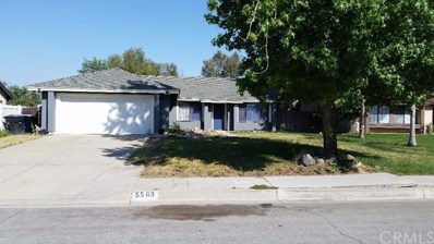 5563 Aster Street, San Bernardino, CA 92407 - MLS#: IV18162881