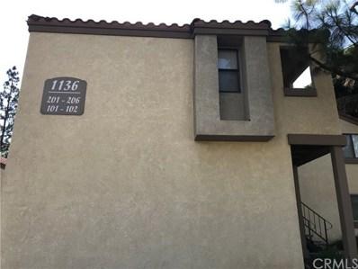 1136 W Blaine Street UNIT 202, Riverside, CA 92507 - MLS#: IV18170770