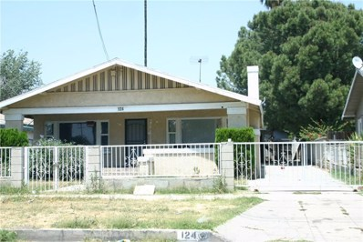 124 E 10th Street, San Bernardino, CA 92410 - MLS#: IV18175316
