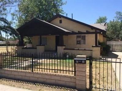 1490 N E, San Bernardino, CA 92405 - MLS#: IV18202581