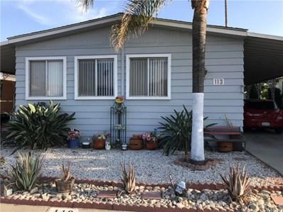 200 W San Bernardino Avenue UNIT 113, Rialto, CA 92376 - MLS#: IV18213868