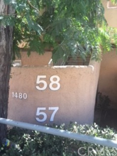 1480 W Edgehill Road UNIT 57, San Bernardino, CA 92405 - MLS#: IV18232532