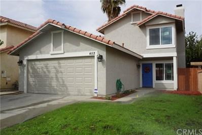 452 Feliz Street, Perris, CA 92571 - MLS#: IV18240717