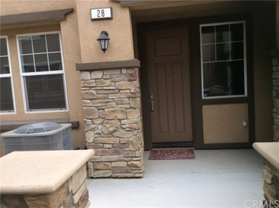 16001 Chase Road UNIT 28, Fontana, CA 92336 - MLS#: IV18241426