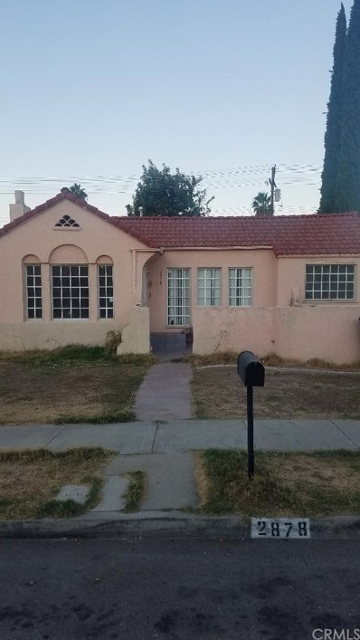 2878 N Pershing Avenue, San Bernardino, CA 92405 - MLS#: IV18251096
