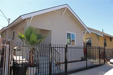 4257 ASCOT Avenue, Los Angeles, CA 90011 - MLS#: IV18254535
