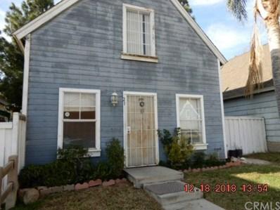 14560 Woodland Drive UNIT 21, Fontana, CA 92337 - MLS#: IV19002455