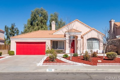700 Periwinkle Lane, Perris, CA 92571 - MLS#: IV19042570