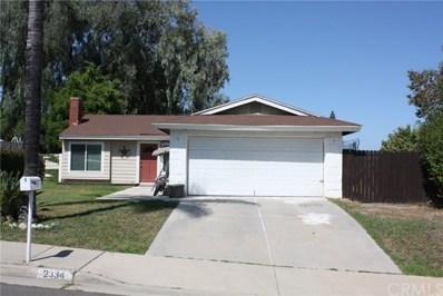 2334 Mesquite Lane, Corona, CA 92882 - MLS#: IV19209785