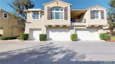 27518 Hazelhurst Street UNIT 1, Murrieta, CA 92562 - MLS#: IV19246026
