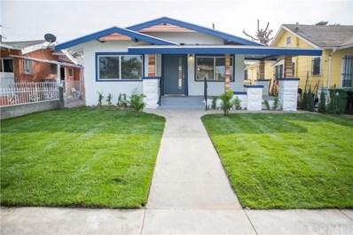 1844 W 38th Place, Los Angeles, CA 90062 - MLS#: IV19265420