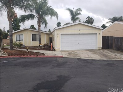700 E Washington Street UNIT 31, Colton, CA 92324 - MLS#: IV20011705