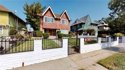 1743 W 24th Street, Los Angeles, CA 90018 - MLS#: IV20036421