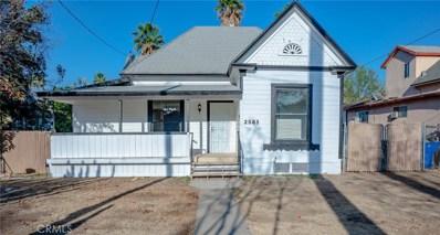 2583 6th Street, Riverside, CA 92507 - MLS#: IV20255851