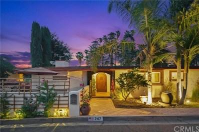 247 Grand View Drive, Redlands, CA 92373 - MLS#: IV21138991