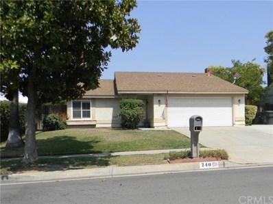 240 Ferndale Court, Redlands, CA 92374 - MLS#: IV21154938