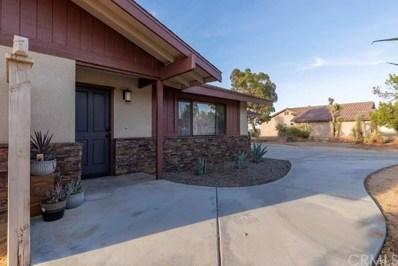 58350 Bonanza Drive, Yucca Valley, CA 92284 - MLS#: JT20068277
