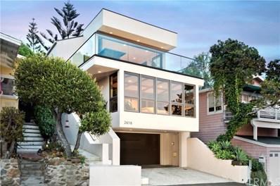 2616 Victoria Drive, Laguna Beach, CA 92651 - MLS#: LG17181826