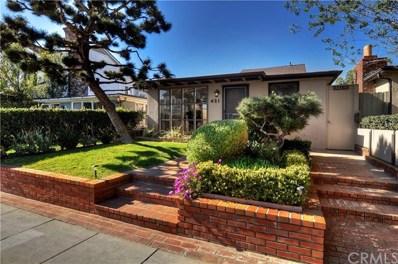 421 Orchid Avenue, Corona del Mar, CA 92625 - MLS#: LG18038032