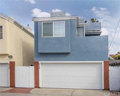 210 20TH Street UNIT B, Newport Beach, CA 92663 - MLS#: LG18067515