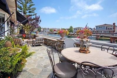 225 Grand Canal, Newport Beach, CA 92662 - MLS#: LG18190636