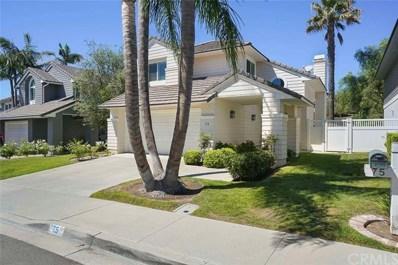 75 Oakcliff Drive, Laguna Niguel, CA 92677 - MLS#: LG18229852