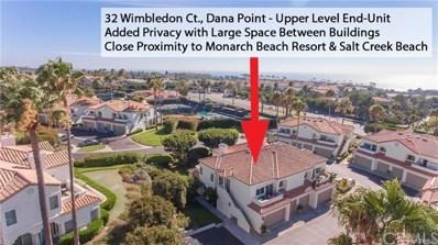32 WIMBLEDON, Dana Point, CA 92629 - #: LG19208047