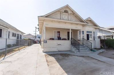 210 W 43rd Street, Los Angeles, CA 90037 - MLS#: MB17235375