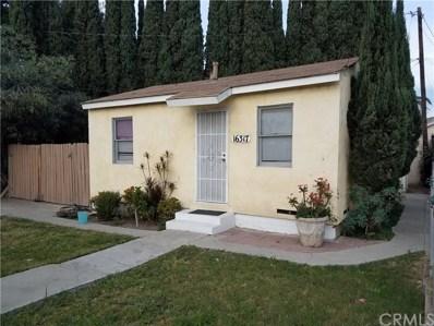 16317 Hunsaker Avenue, Paramount, CA 90723 - MLS#: MB17279576