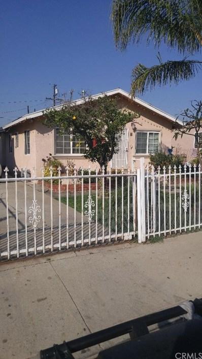 673 S McBride Avenue, East Los Angeles, CA 90022 - MLS#: MB18007898