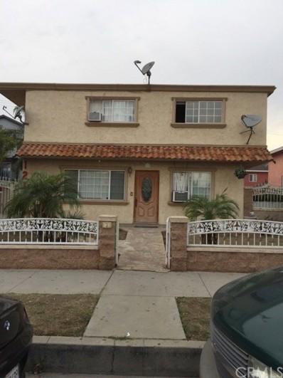 121 N Wilcox Avenue UNIT 1, Montebello, CA 90640 - MLS#: MB18016004