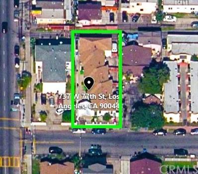 737 W 77th Street, Los Angeles, CA 90044 - MLS#: MB18034920