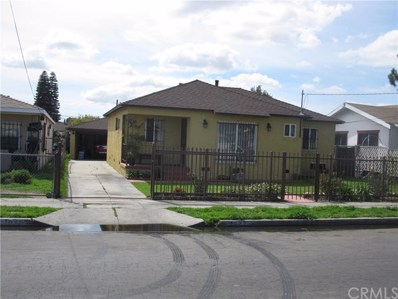 1622 E 112th Street, Los Angeles, CA 90059 - MLS#: MB18063961