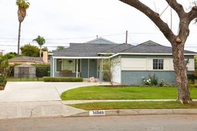 14543 Cedarsprings Drive, Whittier, CA 90603 - MLS#: MB18116217